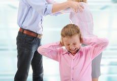Criança da parte dos pais. Foto de Stock Royalty Free