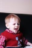 Criança gritando Fotografia de Stock Royalty Free