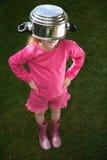 Criança infeliz Fotografia de Stock