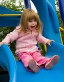 Criança no jogo Foto de Stock Royalty Free