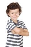 Criança ocasional adorável Fotos de Stock