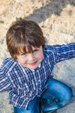 Criança pré-escolar bonita Foto de Stock