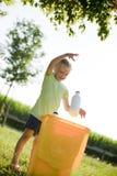 Crianças de Eco Imagem de Stock Royalty Free