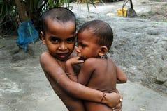 Crianças deficientes Imagens de Stock Royalty Free