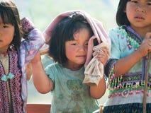 Crianças deficientes felizes Fotografia de Stock Royalty Free