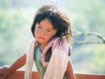 Crianças deficientes felizes Imagem de Stock