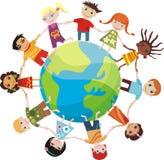 Crianças do mundo Fotos de Stock Royalty Free