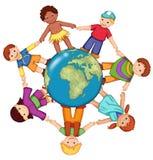Crianças do mundo Imagem de Stock
