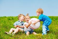 Crianças irritadas Imagem de Stock Royalty Free