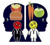 Criando hábitos comendo saudáveis Imagem de Stock Royalty Free