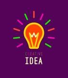 Criativo, faculdade criadora, conceito de projeto das ideias com Fotografia de Stock