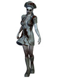 Criatura de Halloween - enfermera sangrienta Imagen de archivo