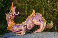 Criatura de Himmapan en la estructura real de la cremación, Bangkok en tailandés Foto de archivo libre de regalías