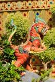 Criatura de Himmapan en la estructura real de la cremación, Bangkok en tailandés Fotografía de archivo libre de regalías