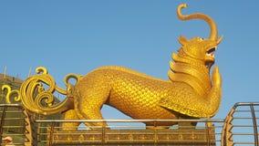 Criatura de la buena suerte en Myanmar Fotografía de archivo