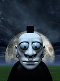 Criatura de la noche stock de ilustración