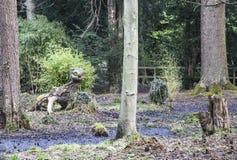 Criatura en el pantano en Thorpe Perrow Imagenes de archivo
