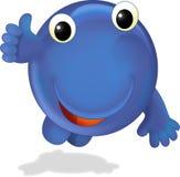 A criatura feliz - ilustração para as crianças Fotografia de Stock Royalty Free
