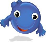 A criatura feliz - ilustração para as crianças Imagem de Stock