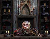 Criatura na frente do altar Imagem de Stock