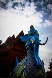 Criaturas de Himmapan en templo Foto de archivo libre de regalías