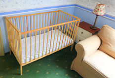 Crib Stock Photography