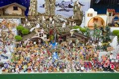 Crib figures Stock Photography
