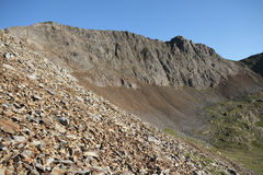 Crib Goch. Royalty Free Stock Photos