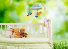 Crib Stock Image