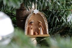 Crib on Tree Royalty Free Stock Photo