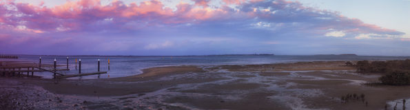 Cribb punkt i Australien Royaltyfri Foto