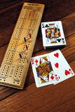 Cribbage stock photo