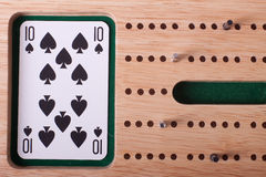 Cribbage Board Royalty Free Stock Photos