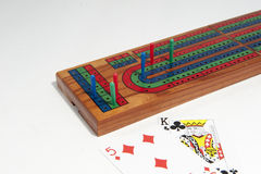 Cribbage board Stock Photography