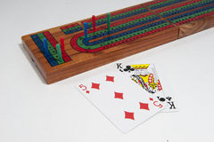 Cribbage board Royalty Free Stock Image