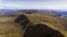 Cribyn on the Brecon Beacons royalty free stock photography