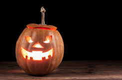 Cric-o-lanterne effrayante Photographie stock libre de droits