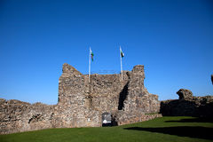 criccieth замока Стоковое Изображение RF