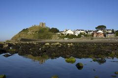 Criccieth Castle Royalty Free Stock Photography