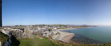 Criccieth castle Royalty Free Stock Photos
