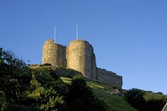 Criccieth Castle Stock Images
