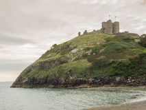Criccieth Castle in North Wales Stock Photography