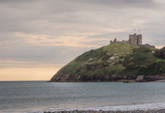 Criccieth Castle in North Wales Stock Image