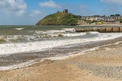 Criccieth, Gwynedd, Wales, het UK royalty-vrije stock foto