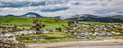 Criccieth, Snowdonia, Ουαλία Στοκ Εικόνες
