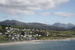 Criccieth tilt and shift B Royalty Free Stock Photography