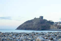 Criceth Galles di Castell Immagine Stock