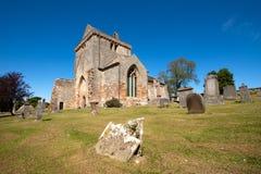 Crichton college- kyrka, Edinburg, Skottland Royaltyfria Foton