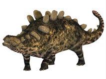 Crichtonsaurus Armored Dinosaur stock illustration