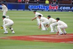 cricket 2009 de l'Afrique australie fév. du sud à voyager Images libres de droits